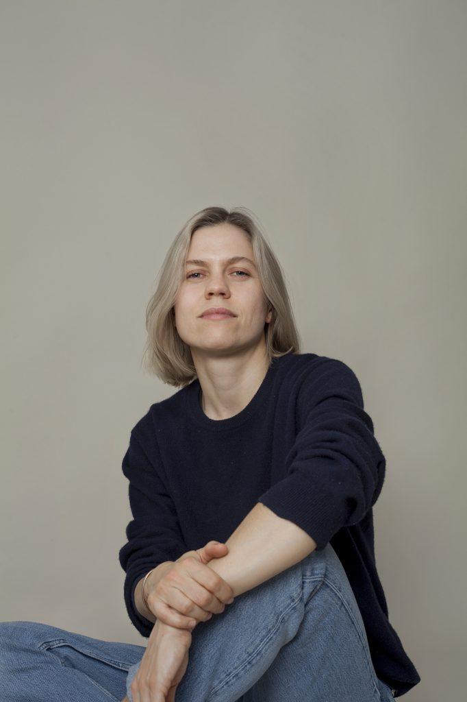 Portrait von Aleksandra Domanović,