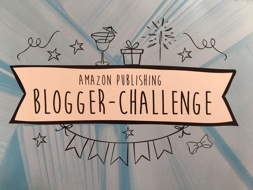 Werbepostkarte für den Blogger-Challenge von Amazon Publishing