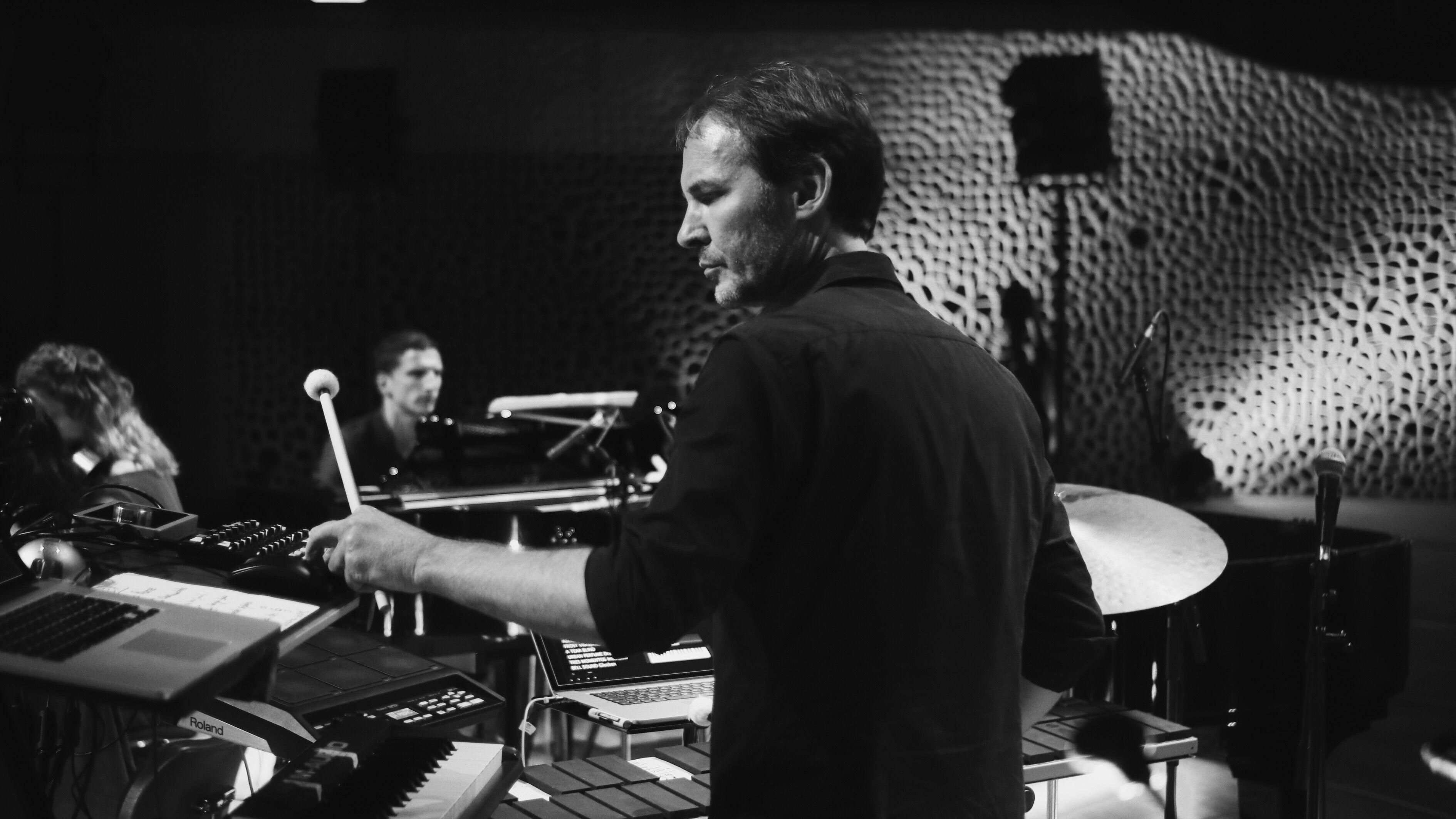 Sven Helbig & Forrklang Quartett spielen ein Konzert