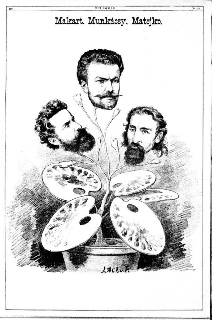 Die Bombe, VIII. Jahrgang, Nr. 29, 21. Juli 1878, S. 4, ANNO/Österreichische Nationalbibliothek