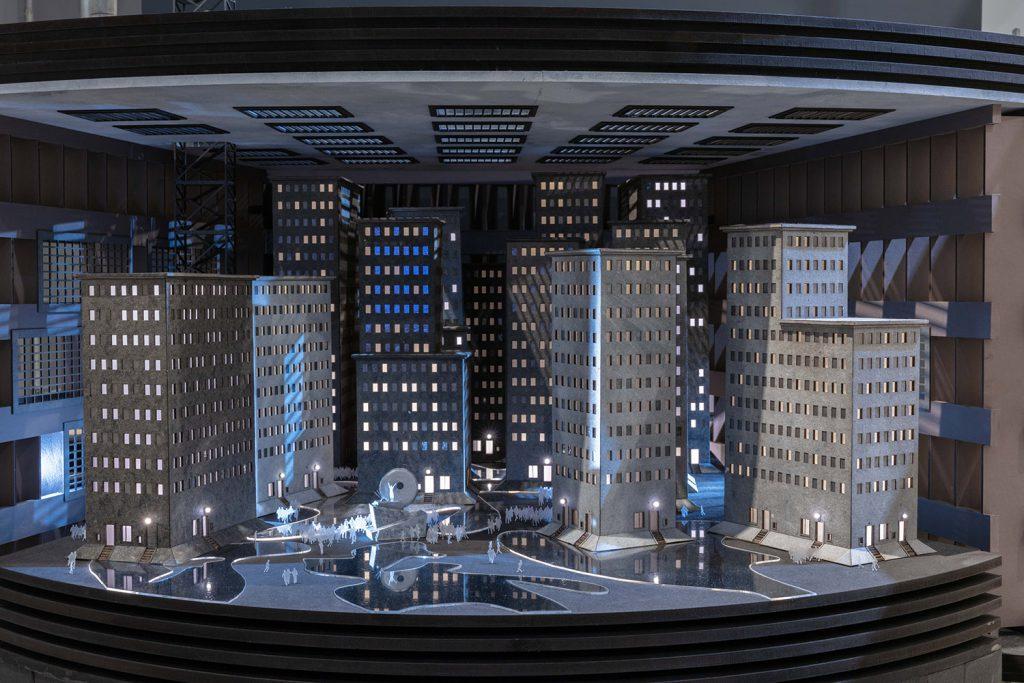 Modell der Unterstadt aus Metropolis