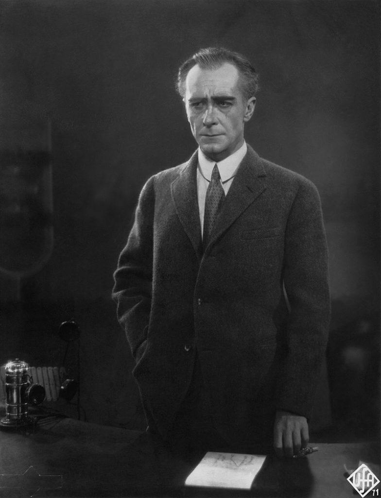 """Alfred Abel als Industrieller Johann """"Joh"""" Fredersen, Foto: Horst von Harbou, Modern Print, METROPOLIS (1927, Fritz Lang) © Deutsche Kinemathek – Horst von Harbou"""