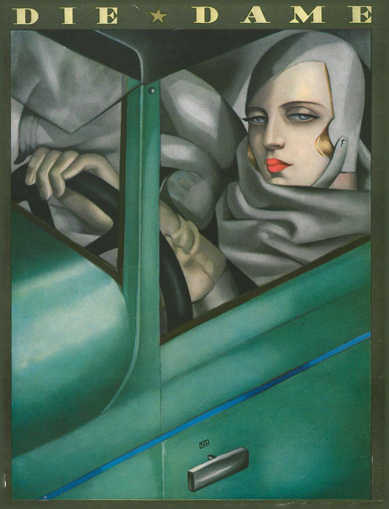 L' Autoportrait (Selbstporträt), Tamara de Lempicka, Faksimile, DIE DAME, Juli 1929, ullstein bild collection