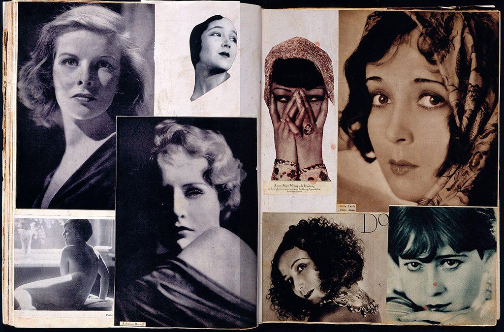 """Hannah Höch, Album """"Scrapbook"""", 1933, Collage auf Zeitschriftenseiten © Berlinische Galerie – Landesmuseum für Moderne Kunst, Fotografie und Architektur"""
