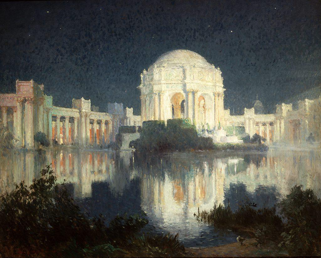 Colin Campbell Cooper, Der Palast der Schönen Künste, San Francisco