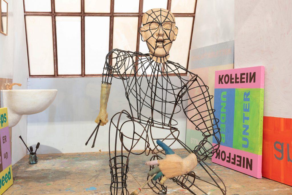 Martin Kippenberger, Ausstellungsansicht, Foto: Peter-Paul Weiler, 2019