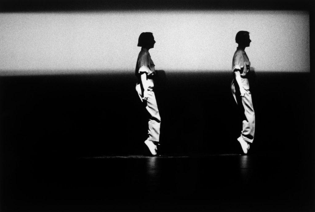 Anne Teresa De Keersmaeker tanzt Fase selbst. Foto © Herman Sorgeloos